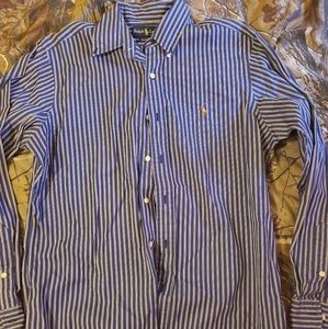 Mens polo button down